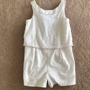 Janie and jack romper size 6